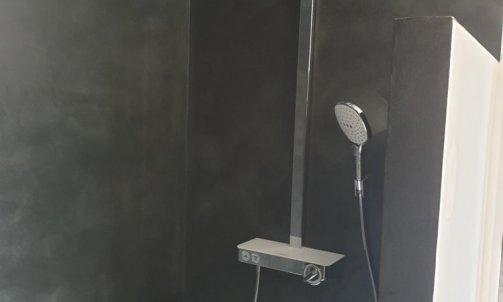 Colonne de douche Showerpipe raindance select E 360 de chez Hansgrohe