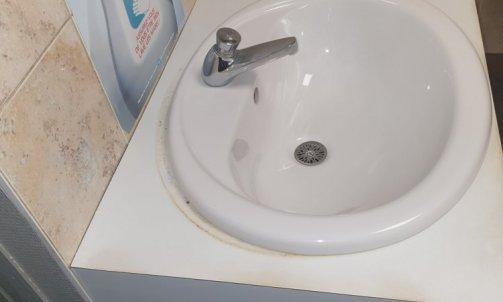 remplacement vasque et robineterie
